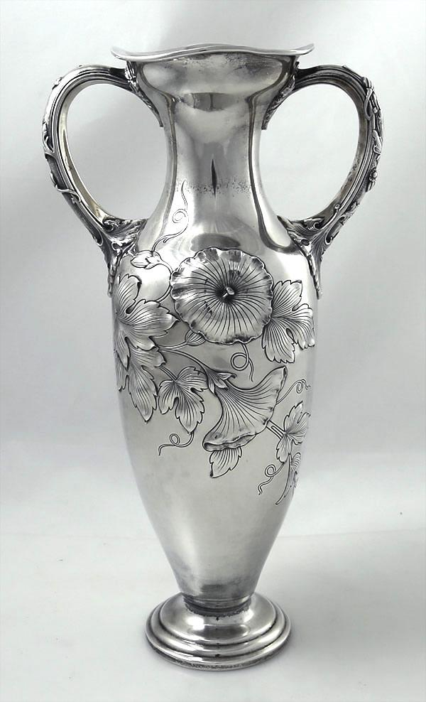 Gorham Sterling Art Nouveau Vase