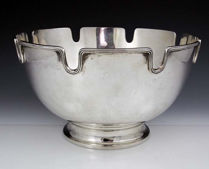 Tiffany Sterling Silver Monteith Bowl
