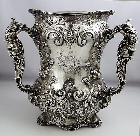 Gorham Special Order Antique Sterling Loving Cup